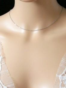 Chaîne pour bijou pendentif de dos mariage