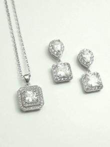 Parure bijoux mariage Crysaelle