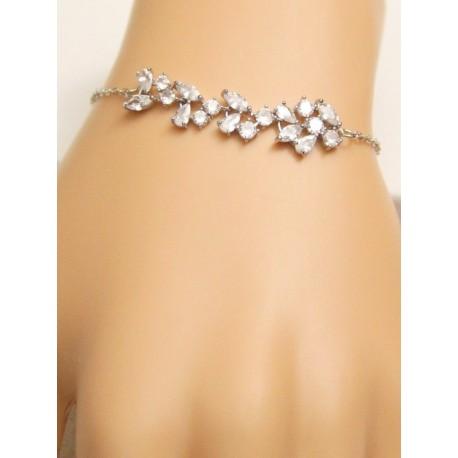 Bracelet mariée strass