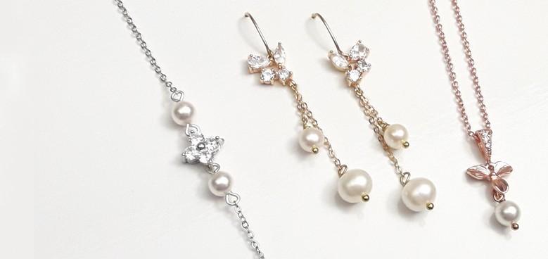 Bijoux mariage et accessoires perles